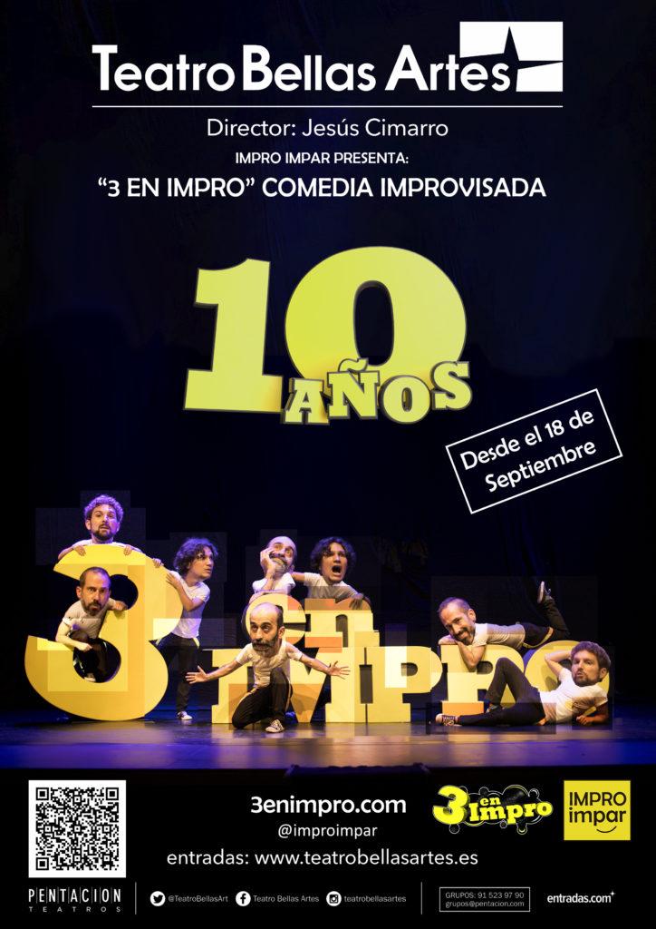 3 en Impro - 10 años